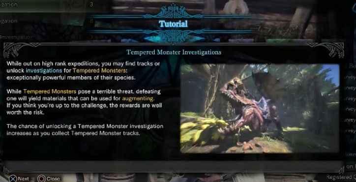 【モンハンワールド攻略】痕跡を探すことで強化された個体と戦うことができる【MHW】